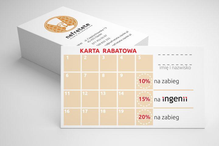 Nefretete Opole Karta rabatowa